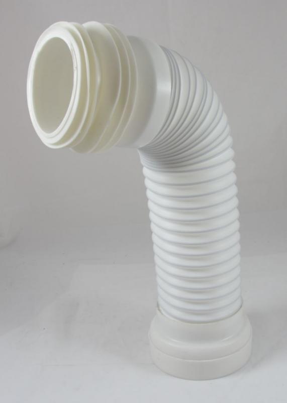 s adapter f r stand wc 39 s ablaufstutzen abflussrohr flexibel domino trade de. Black Bedroom Furniture Sets. Home Design Ideas